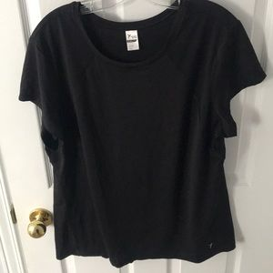 Old Navy Black Workout Top